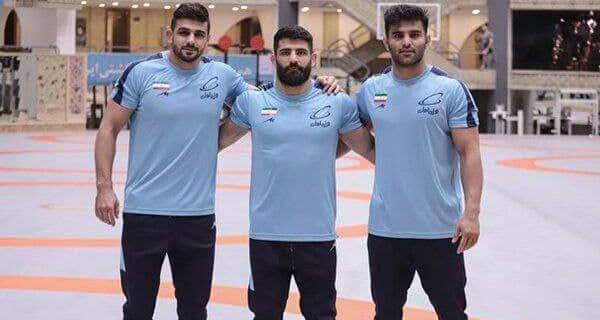 هر سه مدال وزن ۹۷ کیلوی جام زیلوفسکی در سبد ایران